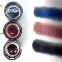 Maybelline Colour Tattoo 24HR | Timeless Black, Everlasting Navy, Metallic Pomegranate